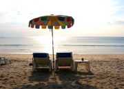 sunbeds & umbrellas