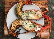 lobster bbq  with chili & garlic